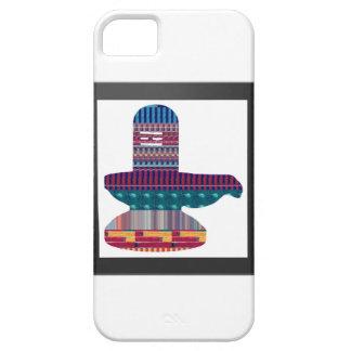 SHIVA Linga Shivlingaのヒンズー教の確信NVN631のおもしろい iPhone SE/5/5s ケース
