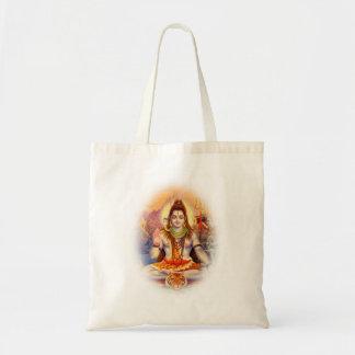 Shiva Meditating主のトートバック トートバッグ