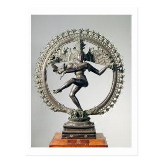 Shiva Nataraja、タミル・ナードゥ州、遅いChola (青銅) ポストカード