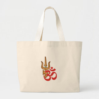 Shiva Trishula ラージトートバッグ