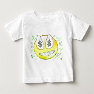 Sho私ベンジャーミンのスマイリーフェイス ベビーTシャツ