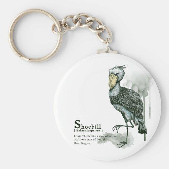 shoebill - ink キーホルダー