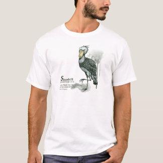 shoebill - ink tシャツ