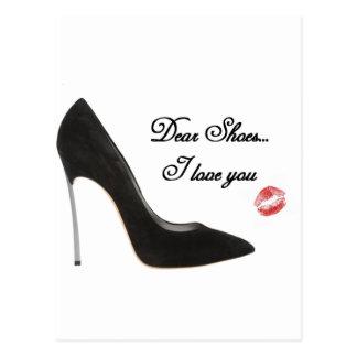 Shoes親愛な… I愛 ポストカード