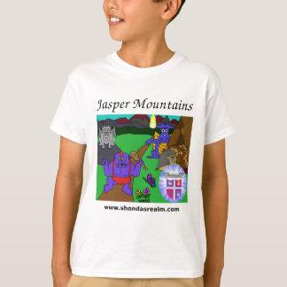 Shondaの王国の碧玉山 Tシャツ