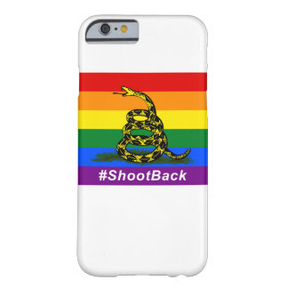 #ShootBackのiPhone 6/6sの場合 Barely There iPhone 6 ケース