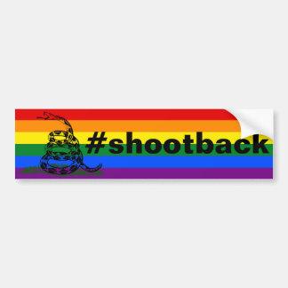 #shootback バンパーステッカー