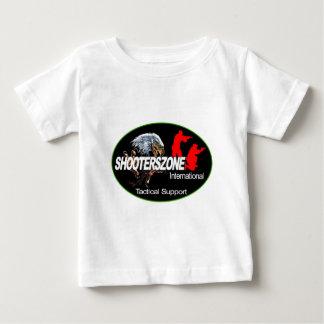 Shooterszone国際的なサポート衣服 ベビーTシャツ