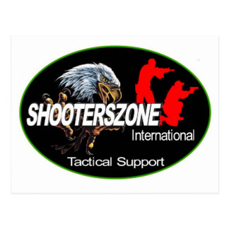 Shooterszone国際的なサポート衣服 ポストカード