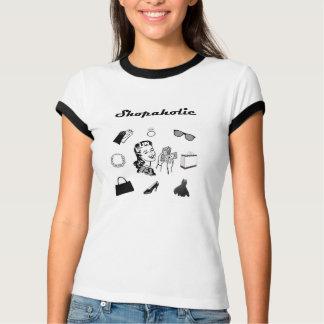 ShopaholicのレトロのTシャツ Tシャツ