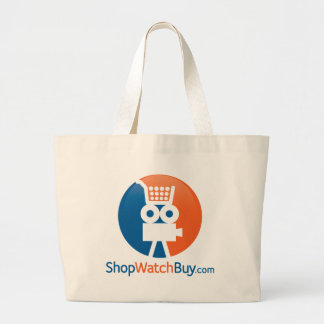 ShopWatchBuyのロゴ ラージトートバッグ