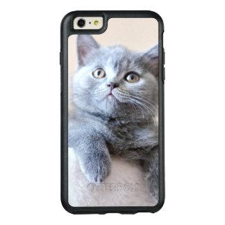 Shorthair灰色のイギリスの猫 オッターボックスiPhone 6/6s Plusケース