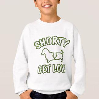 Shortyは低いダックスフントを得ます スウェットシャツ