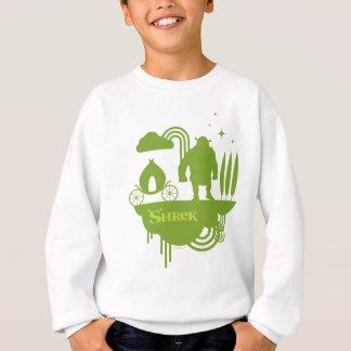 Shrekのおとぎ話のシルエット スウェットシャツ