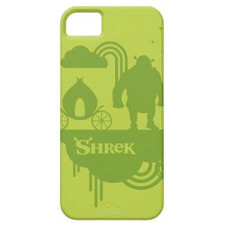 Shrekのおとぎ話のシルエット iPhone SE/5/5s ケース