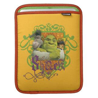 Shrekのグループの頂上 iPadスリーブ