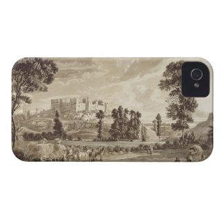 ShropshirのLudlowの町そして城の部分 Case-Mate iPhone 4 ケース