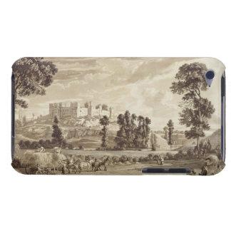 ShropshirのLudlowの町そして城の部分 Case-Mate iPod Touch ケース
