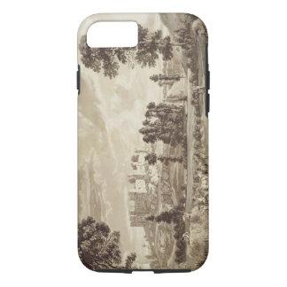 ShropshirのLudlowの町そして城の部分 iPhone 8/7ケース