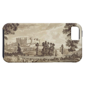 ShropshirのLudlowの町そして城の部分 iPhone SE/5/5s ケース