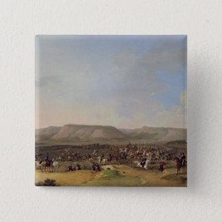 Shumla 1860年の捕獲 5.1cm 正方形バッジ