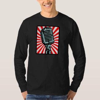 Shure 55Sのヴィンテージのマイクロフォン Tシャツ