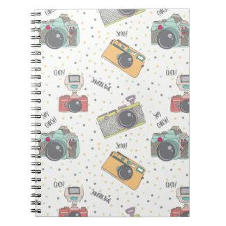 Shutterbugのカメラのノート ノートブック