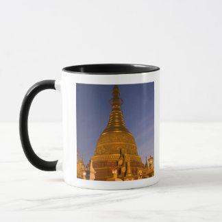 Shwe Myinの錫の寺院、薄暗がりは、TehiのLarを作ります、 マグカップ