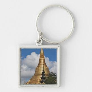 Shwedagonの塔、ヤンゴン、ミャンマー キーホルダー