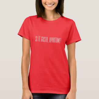 ¡ Siのteの活気、Apartame! バレンタインデーのTシャツ Tシャツ