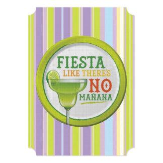 Sí laのフェスタHHMのパーティの招待状 カード
