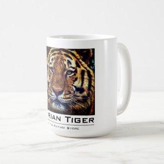 Siberian Tiger:Classic Mug コーヒーマグカップ