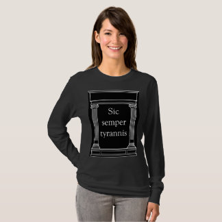 Sic Semper TyrannisのTシャツ Tシャツ