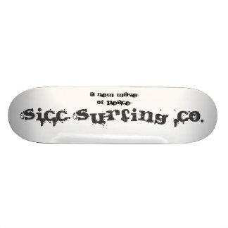 Sicc Surfing Companyのスケートボード! スケボーデッキ
