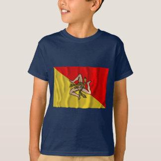 Siciliaの振る旗 Tシャツ