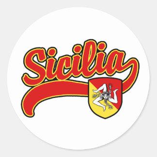 Sicilia ラウンドシール