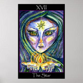 Sidhe-のタロット星 ポスター