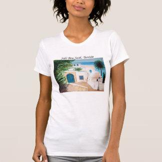 """""""Sidi Bou、チュニジア""""の女性のTシャツ言いました Tシャツ"""