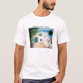 """""""Sidi Bou、チュニジア""""のTシャツ言いました Tシャツ"""