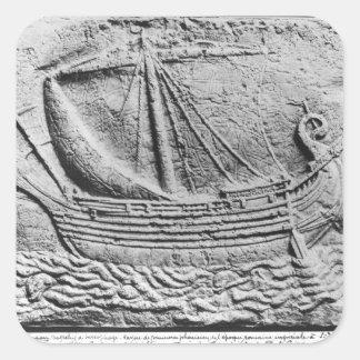 SidonのPhoenician貿易船 スクエアシール