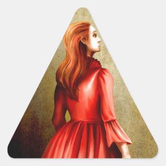Sidoniaの熟視 三角形シール