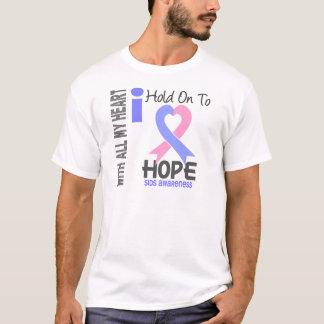 SIDS Iは希望にしがみつきます Tシャツ