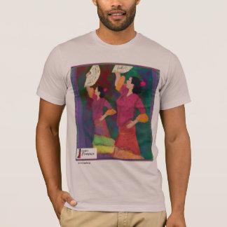 Siempreのフラメンコのスペイン人のダンスのティー Tシャツ