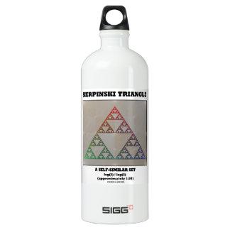 Sierpinskiの三角形(フラクタルの自己類似したセット) SIGG トラベラー 1.0L ウォーターボトル