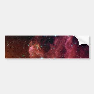 Sig07-006赤い塵の空の雲NASA バンパーステッカー