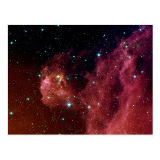Sig07-006赤い塵の空の雲NASA ポストカード