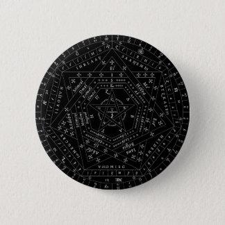 Sigillum黒く完全なDei Aemeth Pin 缶バッジ