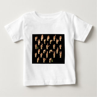 signlanguage ベビーTシャツ