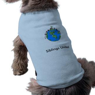 silbingsunitedlogo、統一されたな兄弟姉妹 ペット服