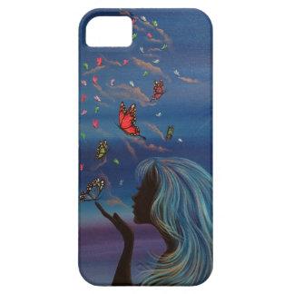 silhouetの妖精 iPhone SE/5/5s ケース